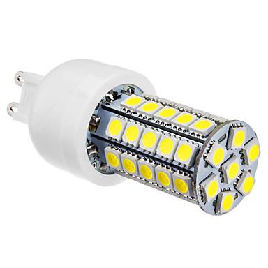 6000 lm G9 LED Corn Lights T 47 leds SMD 5050 Natural White AC 220-240V