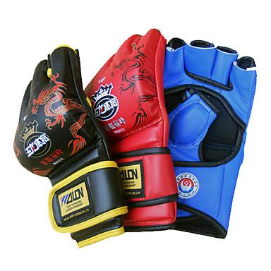 addensare pu boxe gratuiti combattimento guanti colori assortiti (dimensione media)