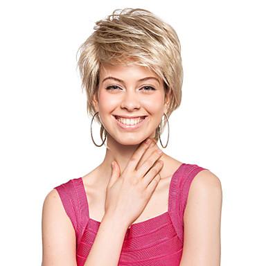 Συνθετικές Περούκες Κλασσικά Συνθετικά μαλλιά Περούκα Γυναικεία