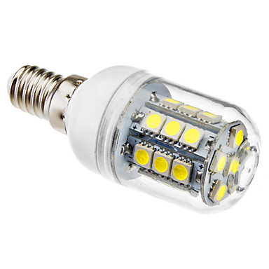 3W 5500lm E14 LED-maissilamput T 27 LED-helmet SMD 5050 Neutraali valkoinen 220-240V