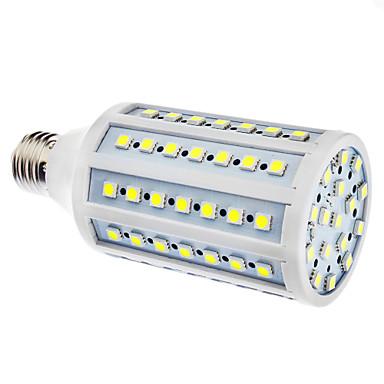 15W 6500 lm E26/E27 LED Mısır Işıklar 86 led SMD 5050 Doğal Beyaz AC 110-130V AC 220-240V