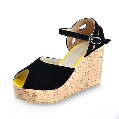 Gorgeous Platform schoenleest sleehak peep-toe sandalen