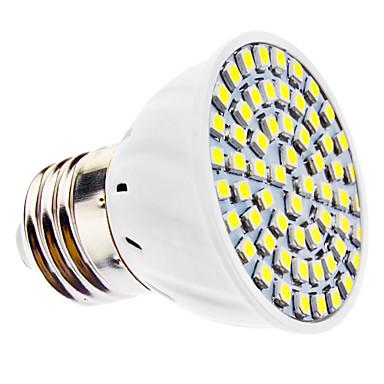 3W E14 / E26/E27 LED-kohdevalaisimet MR16 60 SMD 3528 240 lm Lämmin valkoinen / Kylmä valkoinen AC 220-240 / AC 110-130 V