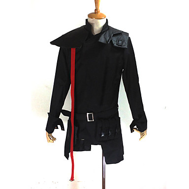 Inspired by Guilty Crown Tsutsugami Gai Anime Cosplay Costumes Cosplay Suits Patchwork Long Sleeves Coat Bag For Men's