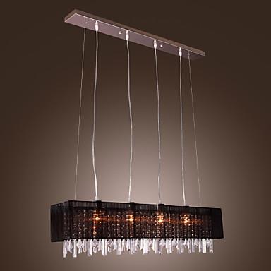 Kristal Privjesak Svjetla Ambient Light Others Metal Fabric Crystal 110-120V / 220-240V Bulb not included / E26 / E27