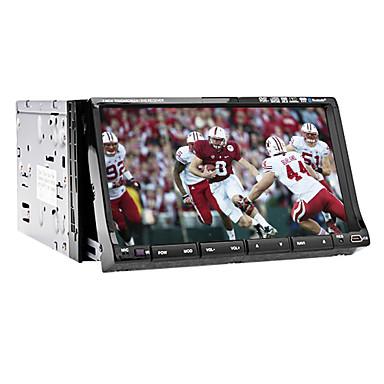 7-Zoll-2 din TFT-Bildschirm im Armaturenbrett Auto-DVD-Player mit iPod-Eingang, RDS, Bluetooth, Navigation-ready GPS, Fernsehapparat