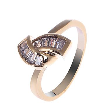 s&v femei 18k rose aur placare zircon inel bbr-00269_1 stil elegant
