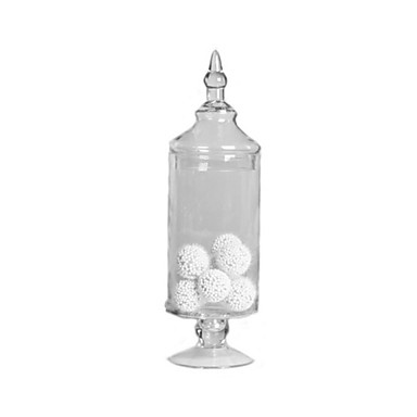 Table Centerpieces Tall Glass Apothecary Jar  Table Deocrations