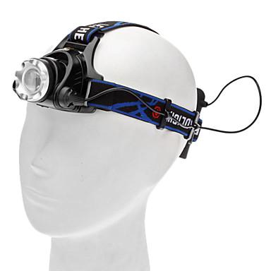 Pandelamper LED 450lm lm 3 Tilstand Cree XM-L T6 Camping / Vandring / Grotte Udforskning Dagligdags Brug Cykling
