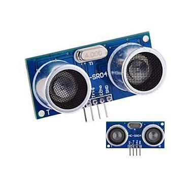 Ultraäänianturi HC-SR04 Etäisyys mittausmoduulissa - Blue + hopea