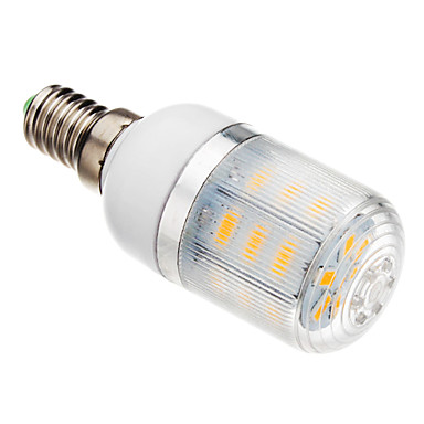 3W 150-200 lm E14 Becuri LED Corn T 24 led-uri SMD 5730 Alb Cald AC 220-240V