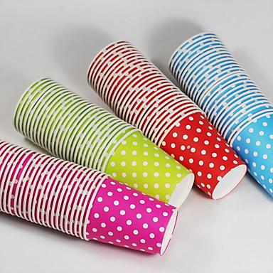 Polka Dot Paper Cups-Set of 25 (More Colors)