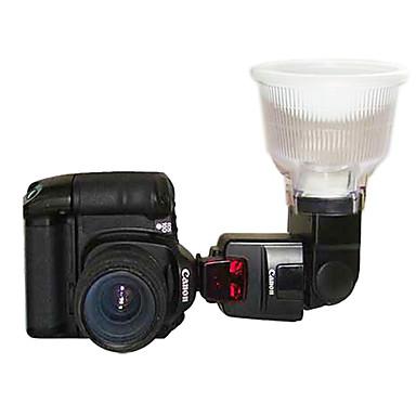 Lambency Flash Diffuser P4 pentru Canon 550EX 580EX II 2 Dome Color