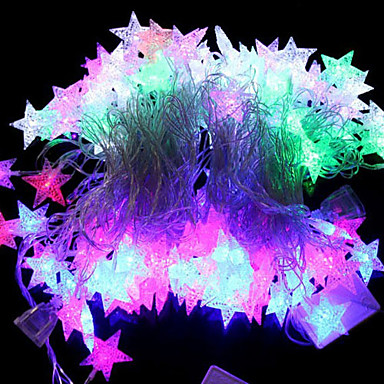 5m Leuchtbänder RGB / Leuchtgirlanden 28 LEDs LED Diode RGB Party / Dekorativ / Verbindbar 220-240 V 1 set / IP44