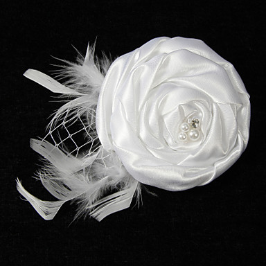 Brooches - Flower Stylish Brooch White For Dailywear