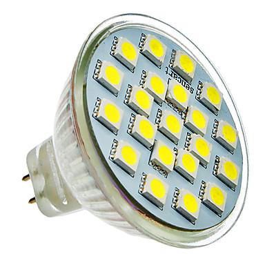 SENCART 165-180lm LED Spotlight 21 LED Beads SMD 5050 Cold White