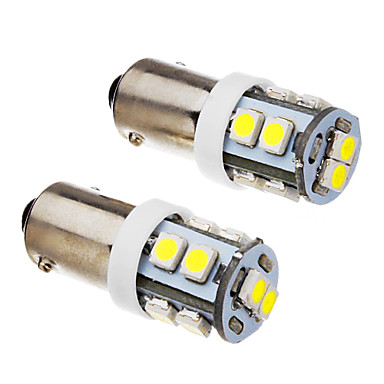 BA9S Mașină Alb Rece 1W SMD 3528 6000Lumini de instrumente Lumini pentru numerele de înmatriculare Lumină marker laterală Lumini de