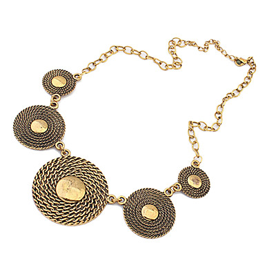 Women's Statement Necklace  -  European, Fashion, Statement Necklace For Party, Daily