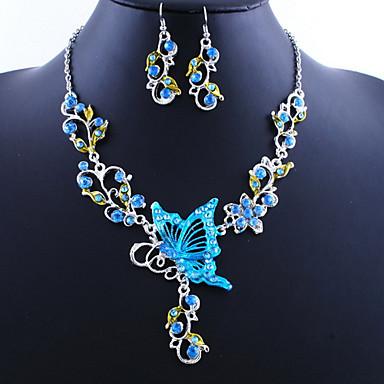 a17d5dfe539c Mujer Conjunto de joyas Mariposa damas