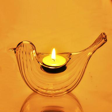 Modern / Zeitgenössisch Glas Kerzenhalters Votiv 1pc, Kerze / Kerzenhalter