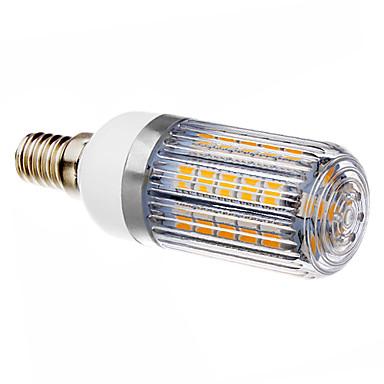 E14 LED klipaste žarulje T 36 LED diode SMD 5050 Toplo bijelo 420-450lm 3000K AC 220-240V
