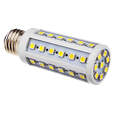 E26/E27 LED corn žárovky T 44 lED diody SMD 5050 Chladná bílá 480lm 6000-6500K AC 220-240V
