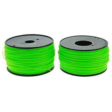 reprapper 3d printer sarf yeşil renk İsteğe bağlı tel Çapı ve