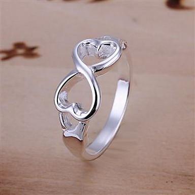 Pentru femei Band Ring Modă Plastic Argintiu Aliaj Σταυρός Costum de bijuterii Petrecere Zilnic