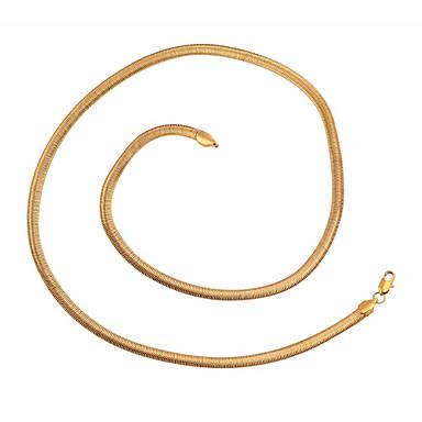 BIN BIN Women's 18K Gold Necklace(XL0016)