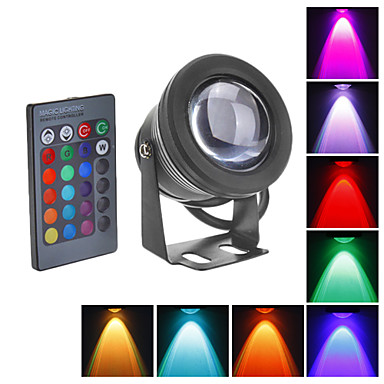 LED Flutlichter Unterwasserleuchten 800 lm RGB K Wasserfest DC 12 V