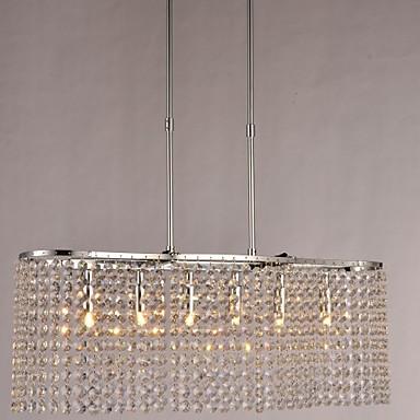 SL® Luzes Pingente Luz Superior - Cristal, Moderno / Contemporâneo, 110-120V 220-240V Lâmpada Não Incluída