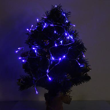 4m Fâșii de Iluminat 40 LED-uri Albastru