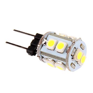 1 W 60-80 lm G4 LED Corn Lights T 10 LED Beads SMD 2835 Cold White 12 V
