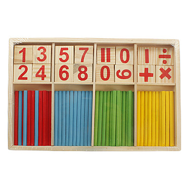 Mathematical intelligence bamboo stick classic toys