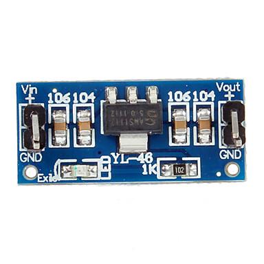 New 6.0V-12V la 5V AMS1117-5.0V de alimentare Module de alimentare AMS1117