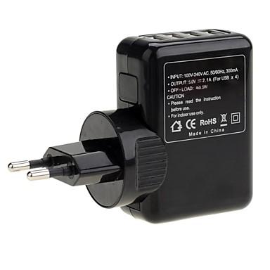 Universal Travel 4-Port-USB-Ladegerät AC-Adapter