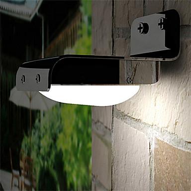 16-LED-uri de voce Sensor liber Solar Powered Lumina Peisaj Garden Wall gard
