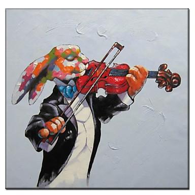 Ručno oslikana Pop art Platno Hang oslikana uljanim bojama Početna Dekoracija Jedna ploha