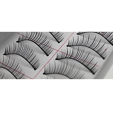 Augenwimpern 10 pcs Voluminisierung / Natürlich Augenwimpern Klassisch Alltag Bilden Kosmetikum