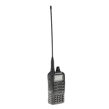 Quansheng UHF / VHF 350-520/136-174MHz 5W Dual Band VOX FM Two Way Radio Walkie Talkie Transceiver