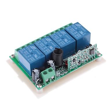 DDR1 DC 12V 4-kanálový multifunkční bezdrátový přepínač pro RC Dveřní / okenní / Industrial Control