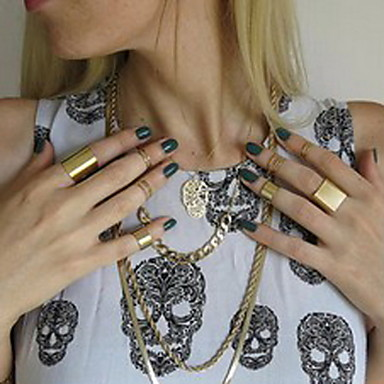 Women's - Alloy European 7 Gold / Silver For Party / Daily / Casual