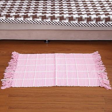 billige Møbelbetræk-elaine ren bomuld lyserød vaffel kontrol tæppe 333648