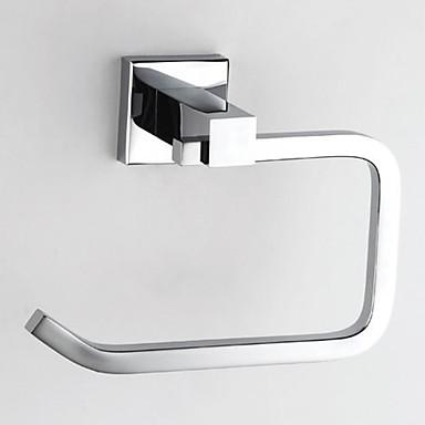 Suport Hârtie Toaletă Calitate superioară Contemporan Alamă 1 piesă - Hotel baie Montaj Perete