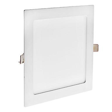 zdm® 1pc 18w 90 led-uri încastrat / usor de instalat led-uri panouri lumini / led lumina naturala alb / rece rece / alb cald 85-265v gaura montare