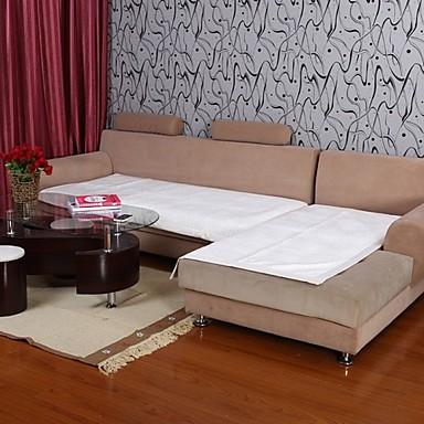 Elaine kratki pliš bordura Lotus obrazac bijeli kauč jastuk 334025