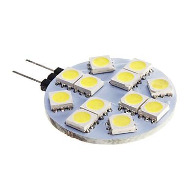 1 stück g4 led lampe led 12 v dc 12 smd 5050 kronleuchter rv / boot leuchtet weiß warmweiß