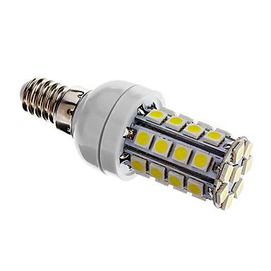 480 lm E14 LED Mais-Birnen T 36 Leds SMD 5050 Abblendbar Kühles Weiß Wechselstrom 220-240V
