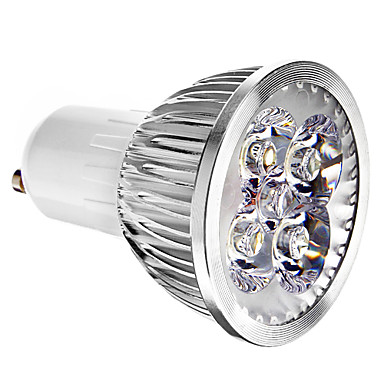 4W 400 lm GU10 Spoturi LED 4 led-uri Alb Rece AC 85-265V
