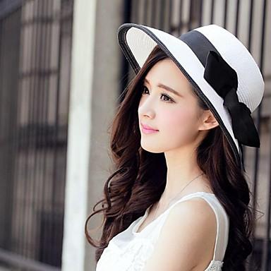 billige Hodeplagg til fest-basketwork papirhatter headpiece bryllupsfesten elegant feminin stil